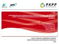 Presentasi Evaluasi F1.55 - PKPP