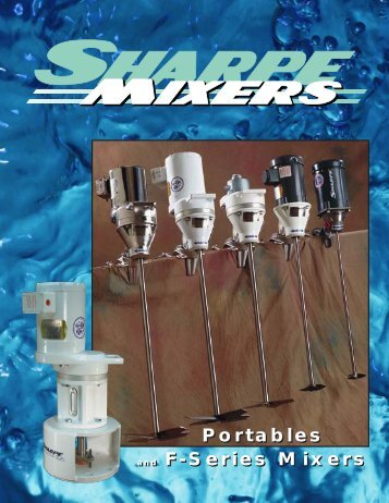 Portable Mixer Brochure - Sharpe Mixers