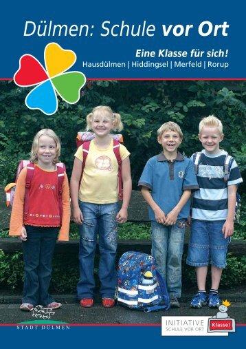 Dülmen: Schule vor Ort - Marien-Grundschule Rorup - Stadt Dülmen.