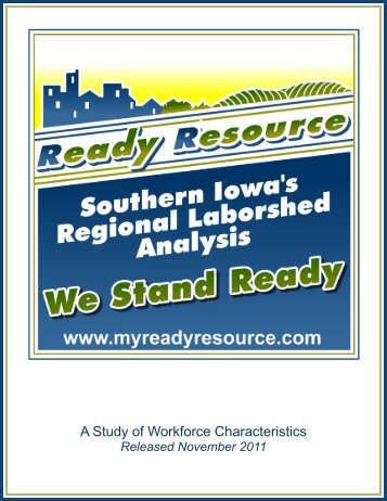 South Central Iowa Partnership Region 2011 - Iowa Workforce ...