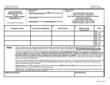 ID-3s-1 - U.S. Railroad Retirement Board