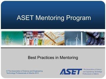 presentation - ASET