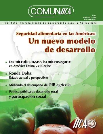 La seguridad alimentaria - Instituto Interamericano de Cooperación ...