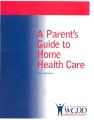 Parent's Guide to Home Health Care - Wisconsin Board for People ...
