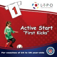 Active Start Brochure - Ontario Soccer Association