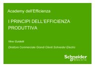 Efficienza produttiva: la metodologia - Schneider Electric