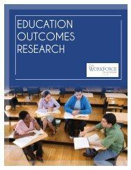 Education Outcomes Brochure - Iowa Workforce Development