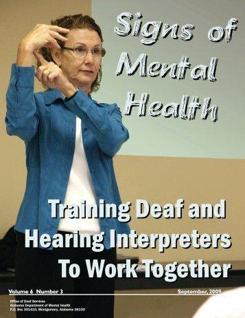 Volume 6 Number 3 September, 2009 - Alabama Department of ...