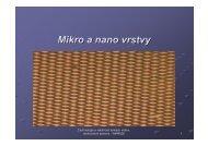 Mikro a nano vrstvy