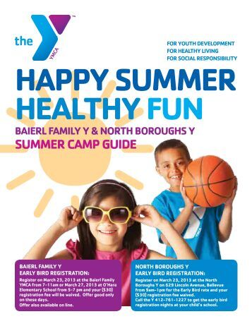 Baierl Family Y Summer Camp - YMCA of Greater Pittsburgh