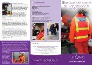 Service de santé et de secours médical www.sdis69.fr