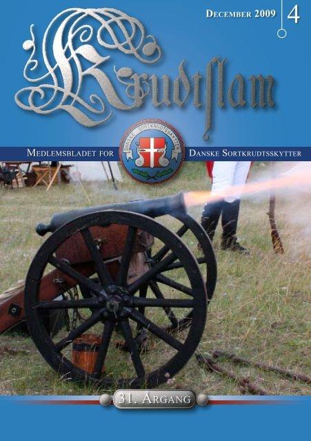 Krudtslam Nr.4-2009 - Forbundet Af Danske Sortkrudtskytteforeninger