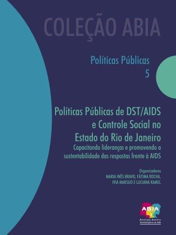 Políticas Públicas de DST/AIDS e Controle Social no Estado ... - Abia