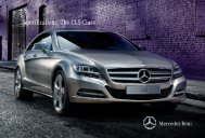 Specifications. The CLS-Class - Mercedes-Benz South Africa