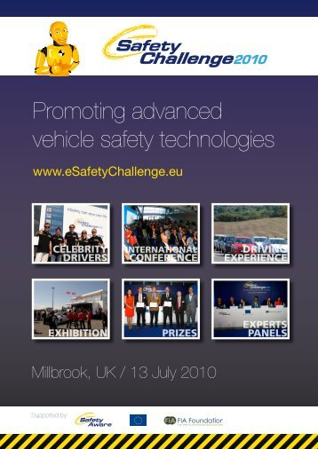 Promoting advanced vehicle safety technologies - eSafety Challenge