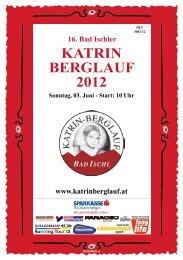 KATRIN BERGLAUF 2012 - Katrinberglauf Bad Ischl