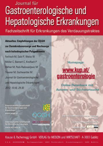 Leitlinie zur Nachsorge - Österreichische Gesellschaft für ...