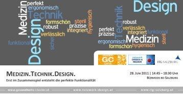 Programm_Medizin.Technik.Design_110628.pdf - ITG Salzburg