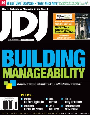 JDJ 9-11.indd - sys-con.com's archive of magazines - SYS-CON Media