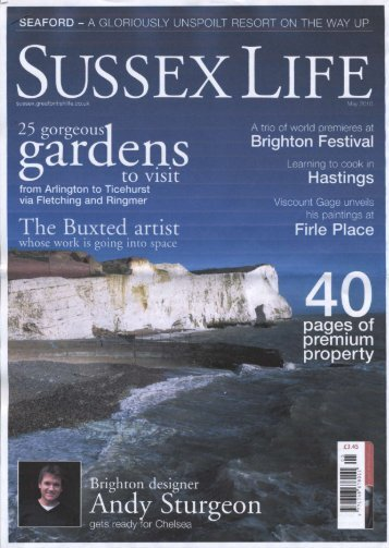 SUSSEX LIFE - Andy Sturgeon