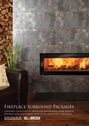 Stovax & Gazco - Fireplace Surround Packages