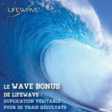 Wave Bonus Brochure-FR - LifeWave