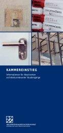 KAMMEREINSTIEG - Architektenkammer Sachsen-Anhalt