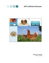 KAT Leitlinien Zoonosen - Was steht auf dem Ei?
