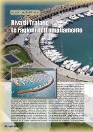 Riva di Traiano Le ragioni dell'ampliamento - Porto & diporto