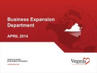 Business Expansion Department