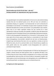 Klaus Hurrelmann - Jugendliche und Berufsorientierung - BvBo