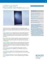 SCHOTT POLY 220-240 Black Frame Datasheet US ... - Solarni paneli