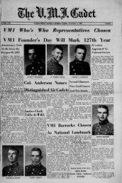 The Cadet. VMI Newspaper. November 04, 1966 - New Page 1 ...