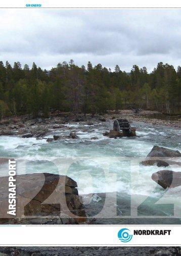 Årsrapport Nordkraft AS 2012