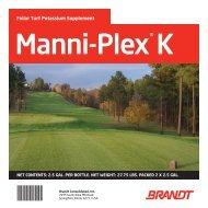 Manni-Plex K® - Brandt