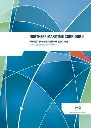 northern maritime corridor ii project summary report 2005 ... - TUHH