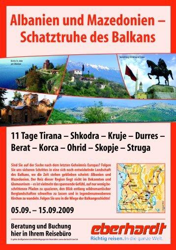 Albanien und Mazedonien - bluemarlin-reisen.de