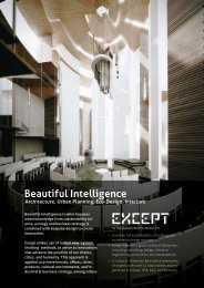 Beautiful Intelligence - Except Integrated Sustainability