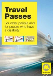 Free Travel Pass Booklet - Merseytravel