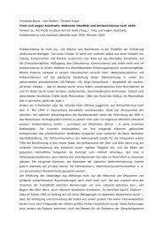 Christoph Beyer / Jan Gerber / Torsten Kraya ... - materialien-kritik