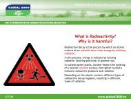 Radioactivity and Risks of Nuclear Power - Global 2000