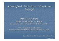A Evolução do Controlo de Infecção em Portugal