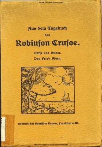 Aus dem Tagebuch des Robinson Crusoe - Digitale Bibliothek ...