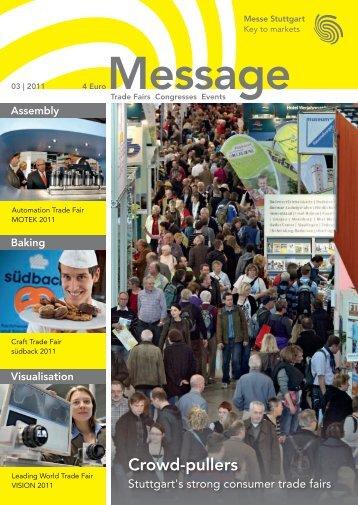 Message issue 3/2011 - Messe Stuttgart