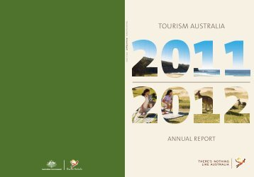 2011 - 2012 Annual Report - Tourism Australia
