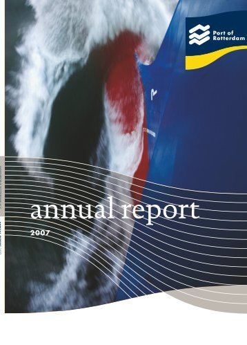 Annual report 2007 - Port of Rotterdam