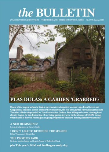 Bulletin 59 - the Welsh Historic Gardens Trust (WHGT)