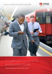 Leggi la Relazione annuale sulla sicurezza per ... - Trend Micro