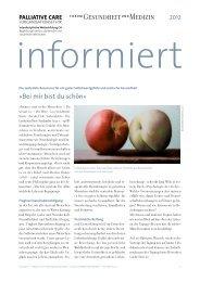 Newsletter informiert 2012 - Forum Gesundheit und Medizin