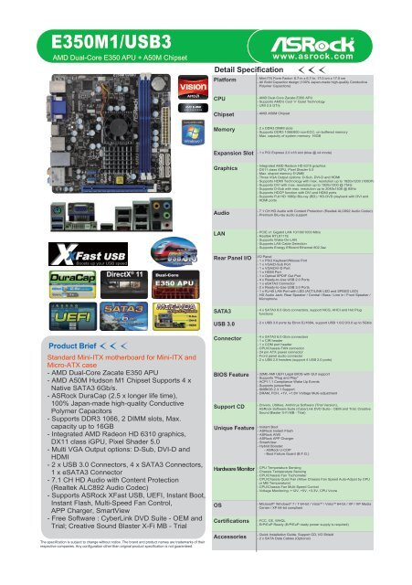 ASROCK E350M1USB3 ETRON WINDOWS 8.1 DRIVER DOWNLOAD